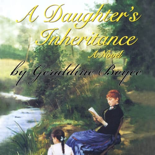 A Daughter's Inheritance: A Novel by Geraldine Boyce audiobook cover image