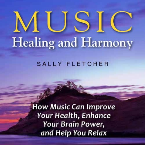 Music Healing and Harmony by Sally Fletcher audiobook cover image
