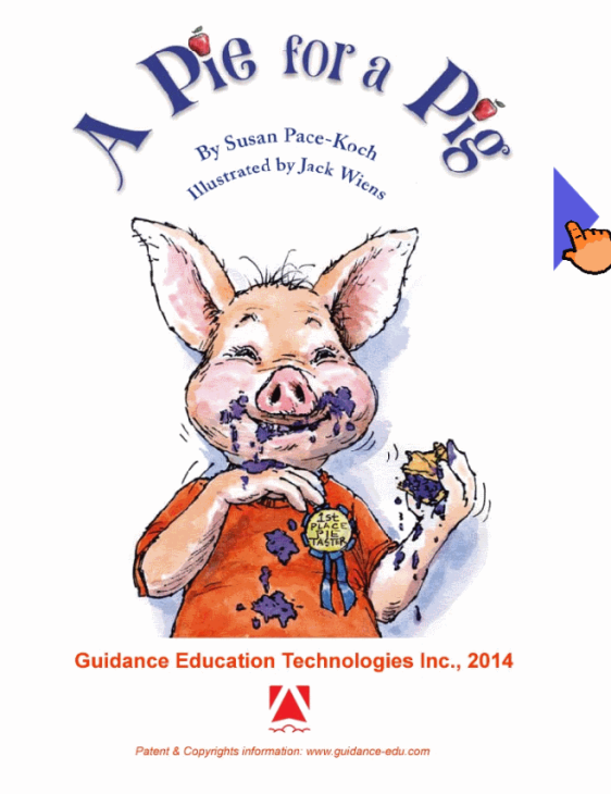 Educational App A Pie for a Pig by Guidance Education Technologies