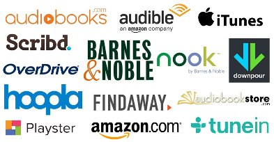Audiobook retail distributors for your audiobook produced by Pro Audio Voices