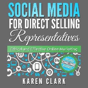audiobook cover Social Media for Direct Selling Representatives