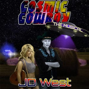 Cosmic Cowboy the Musical audiobook cover