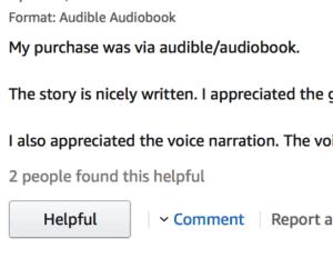 Amazon Review Comment