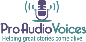 Pro Audio Voices Logo